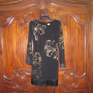 Cache Black Dress size 6